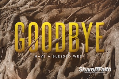Rooted Goodbye Church Motion Graphic