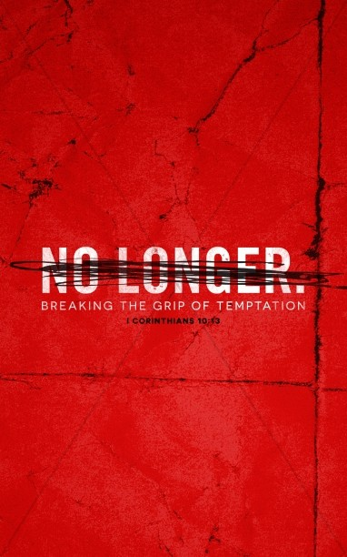 No Longer Slaves Church Bulletin Cover