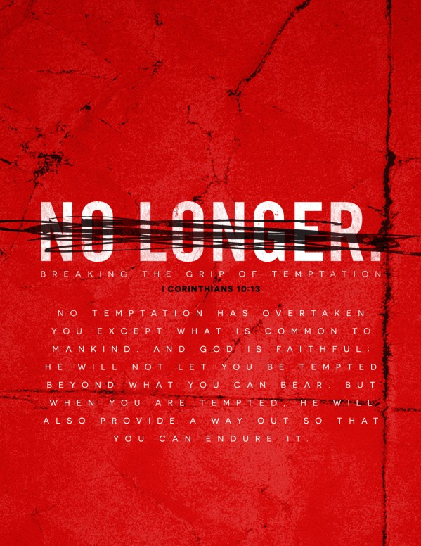 No Longer Slaves Church Flyer Template