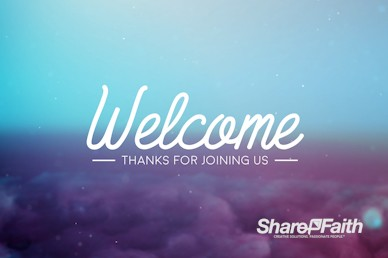 Church Bible Study Welcome Motion Graphic