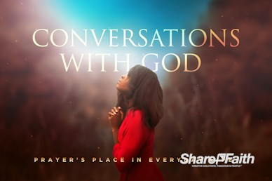 Conversations With God Church Motion Graphic