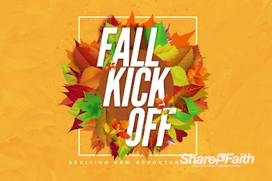Church Fall Kickoff Motion Graphic
