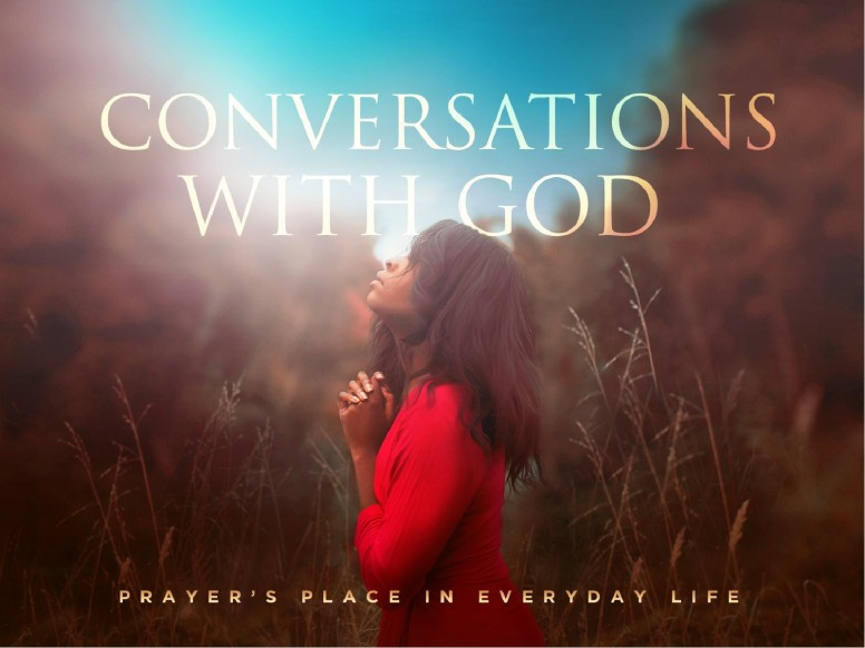 Conversations With God Sermon PowerPoint