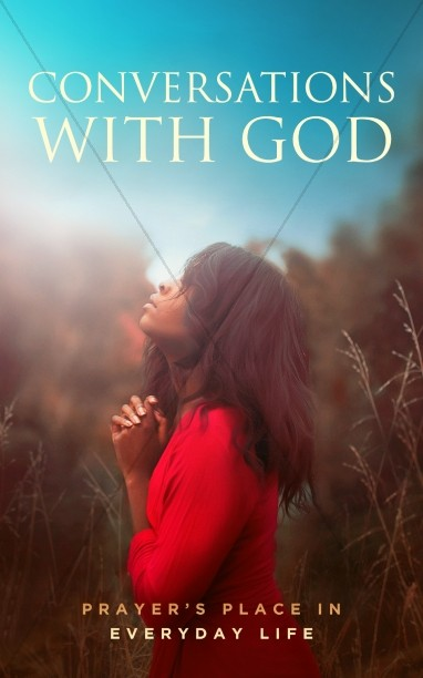 Conversations With God Church Bulletin Cover