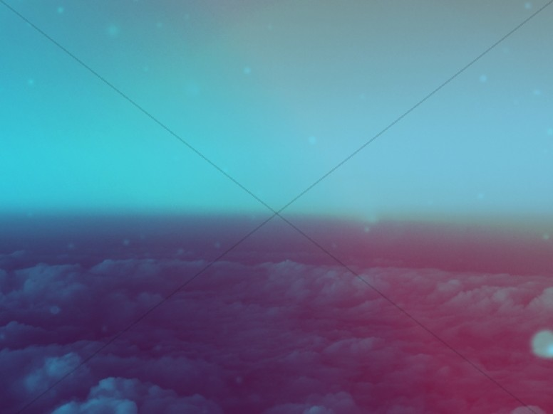Above The Clouds Worship Background