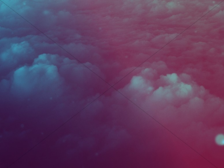 Sea Of Clouds Worship Background