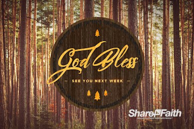 Fall Retreat Goodbye Motion Graphic