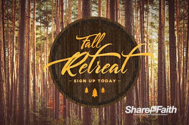 Fall Retreat Church Motion Graphic