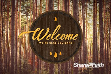 Fall Retreat Welcome Motion Graphic