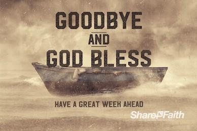 Keep the Faith Goodbye Motion Graphic