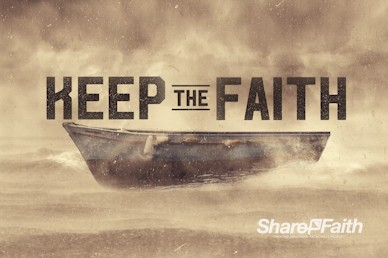 Keep the Faith Church Motion Graphic
