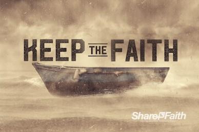 Keep the Faith Church Motion Graphic