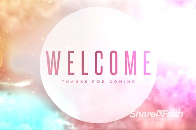 The Second Coming of Christ Welcome Motion Graphic