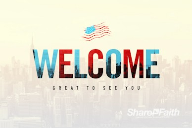Labor Day Welcome Motion Graphic