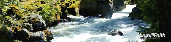 River Rapids Adventure Nature Triple Wide Video Background