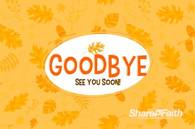 Harvest Party Farewell Motion Graphic