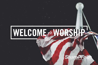 See You At The Pole Welcome Motion Graphic