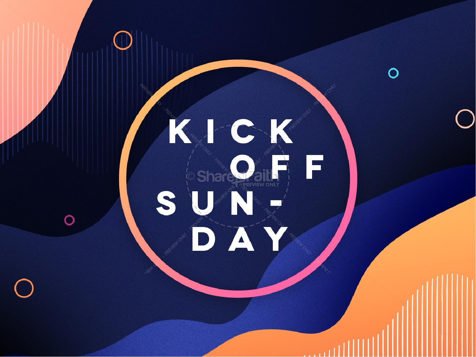 Fall Kick Off Church Graphic Template