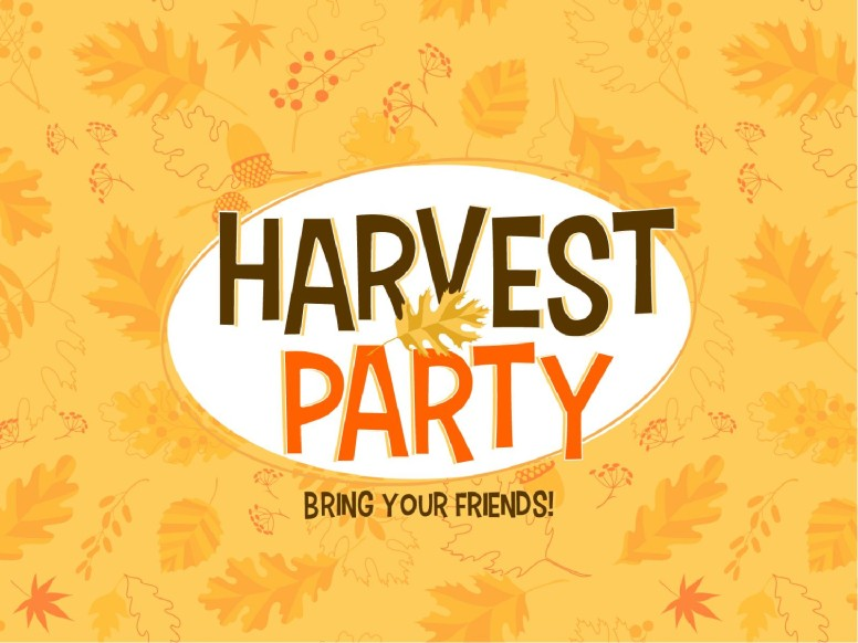 Harvest Party Church PowerPoint