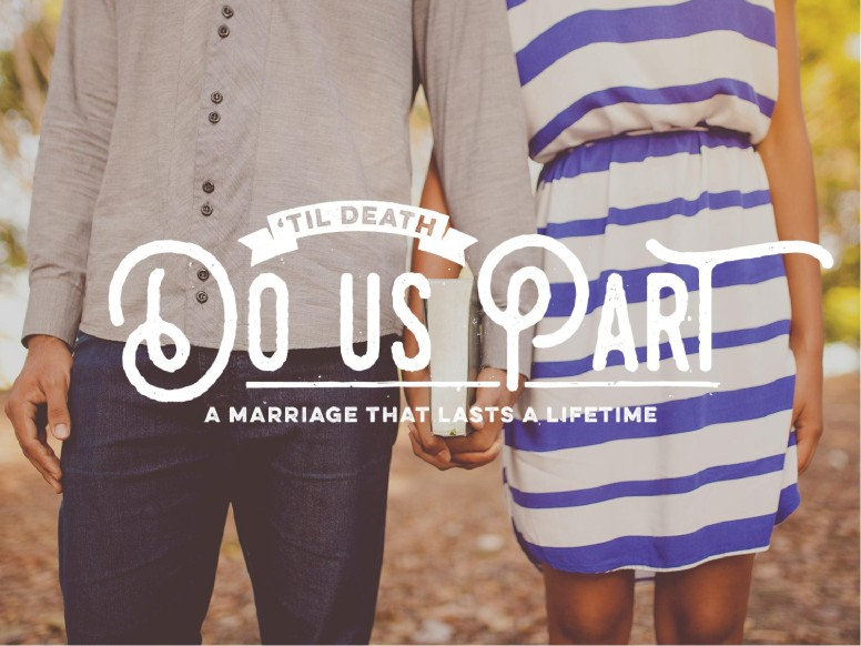 Till Death Do Us Part Marriage PowerPoint