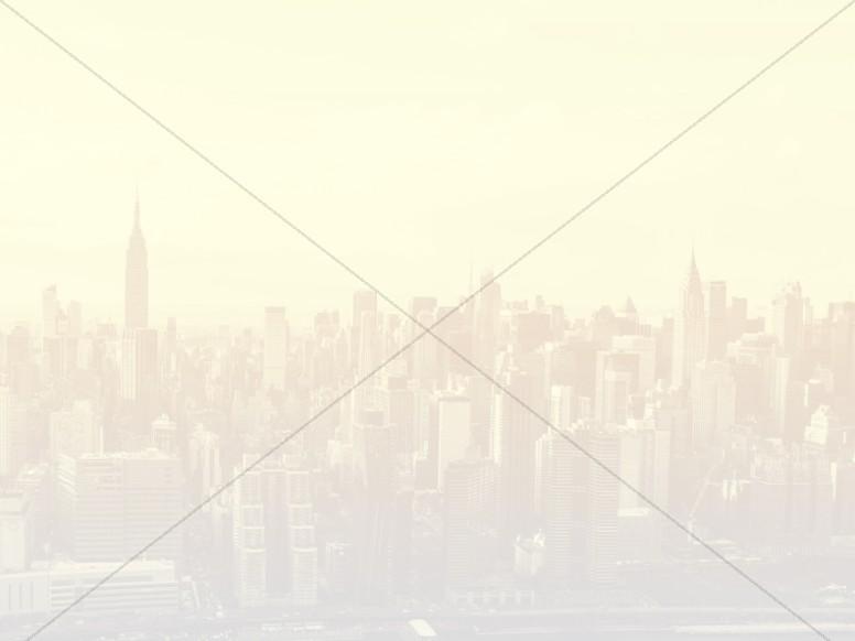 Cityscape Worship Background Image