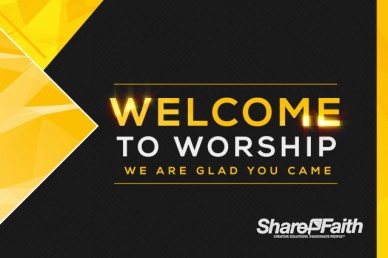 Pastor Appreciation Welcome Motion Graphic