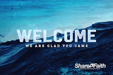 Rising Tide Welcome Motion Graphic