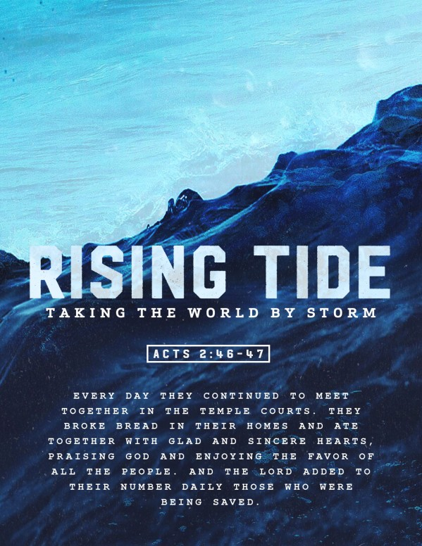 Rising Tide Church Flyer Template