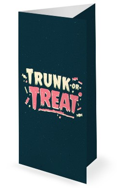 Trunk Or Treat Harvest Festival Church Tri Fold Bulletin