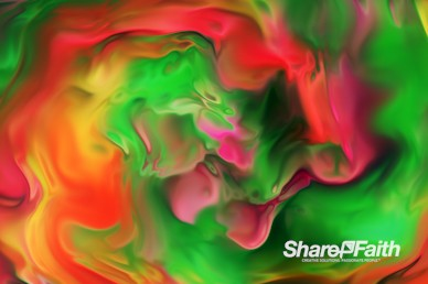 Paint Vortex Abstract Background Video