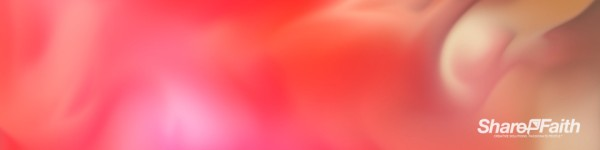 Red Paint Swirl Triple Wide Abstract Background Video