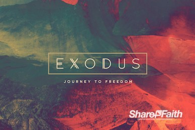 Exodus Sermon Motion Graphic