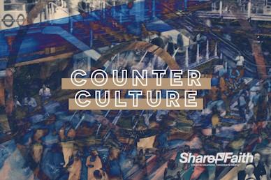 Counter Culture Sermon Motion Graphic