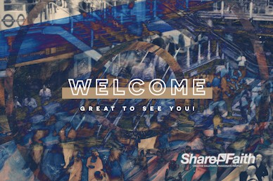 Counter Culture Welcome Motion Graphic