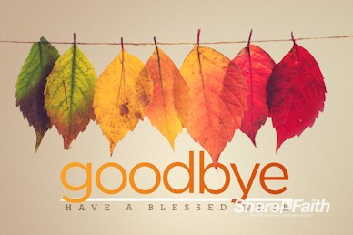 Small Groups Goodbye Motion Graphic