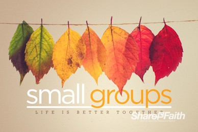 Small Groups Church Motion Graphic