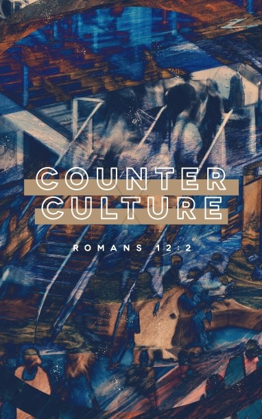 Counter Culture Church Bulletin Template
