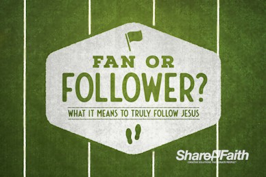 Fan or Follower of Jesus Church Motion Graphic