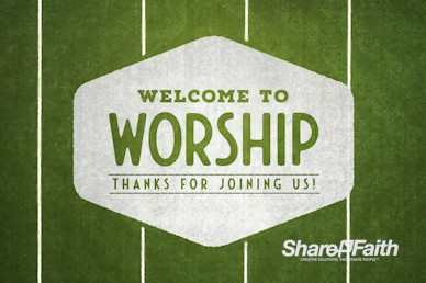 Fan or Follower of Jesus Welcome Motion Graphic