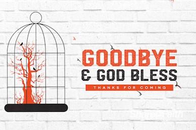 Freedom and Purpose Goodbye Motion Graphic