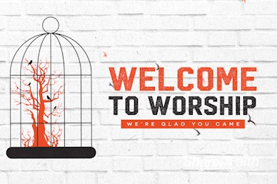 Freedom and Purpose Welcome Motion Graphic