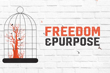 Freedom and Purpose Church Motion Graphic