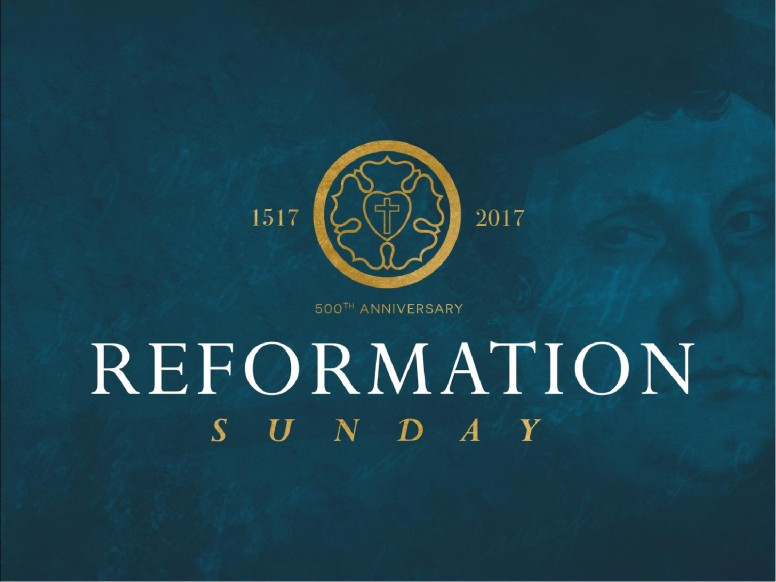 Martin Luther Reformation Day PowerPoint Template