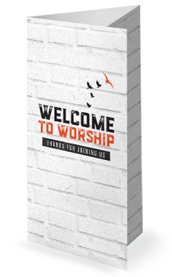 Freedom and Purpose Church Trifold Bulletin Cover