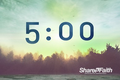 Steadfast Love of the Lord Church Countdown Timer
