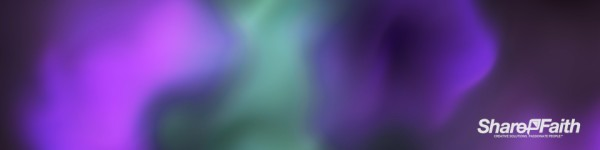 Abstract Paint Colored Smoke Triple Wide Worship Video