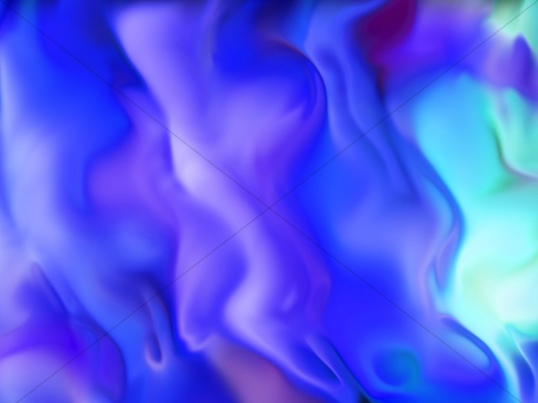 Blue Neon Paint Abstract Worship Background
