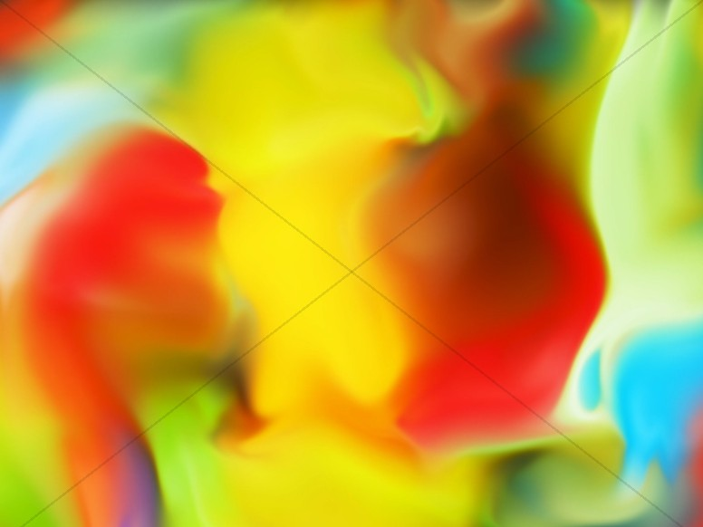Colorful Paint Abstract Background Image