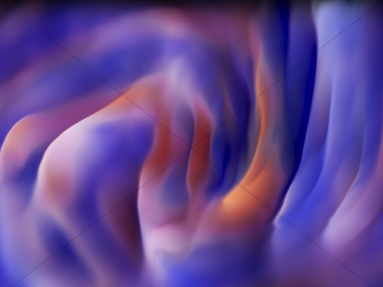 Abstract Paint Warp Worship Background
