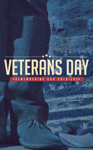 Veterans Day Church Bulletin Template